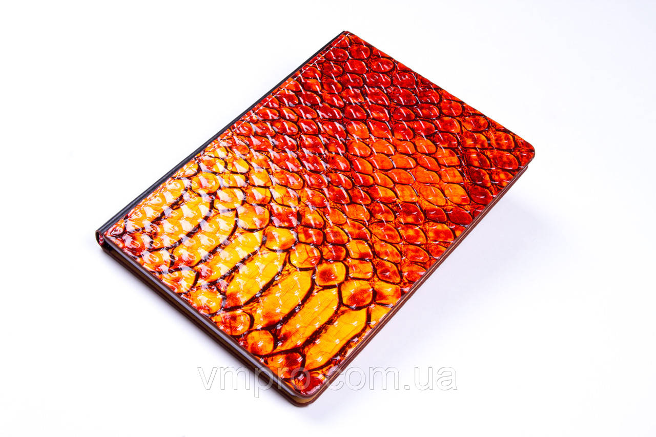 """Блокнот кож. зам, """"Питон"""" (13×19.2 см), №905-32K, записная книжка"""