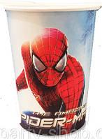 Стаканчик одноразовый праздничный Спайдермен Человек паук