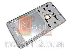 Задняя крышка Xiaomi Redmi Note 3, серая, оригинал (PRC)