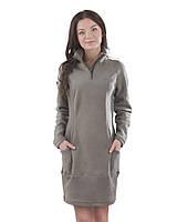 Теплое флисовое платья (в расцветках XS - 3XL)