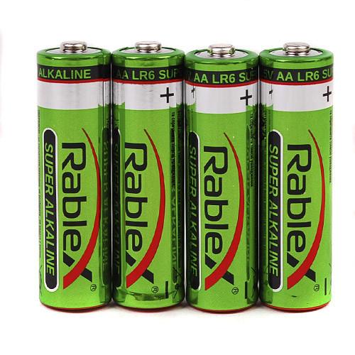Батарейка Rablex Super alkaline LR6 AA