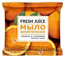 Мыло косметическое Fresh Juice Orange & Cinnamon Апельсин и Корица - 75 г.
