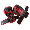 Боксерські рукавиці PowerPlay 3017 Чорні карбон 8 унцій, фото 9