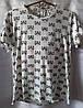 Пижама с енотами коттоновая женская (шорты+футболка) (S/46)