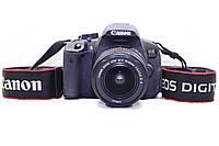 Б/у Зеркалка Canon 650d, efs 18-55 IS II, фото 1