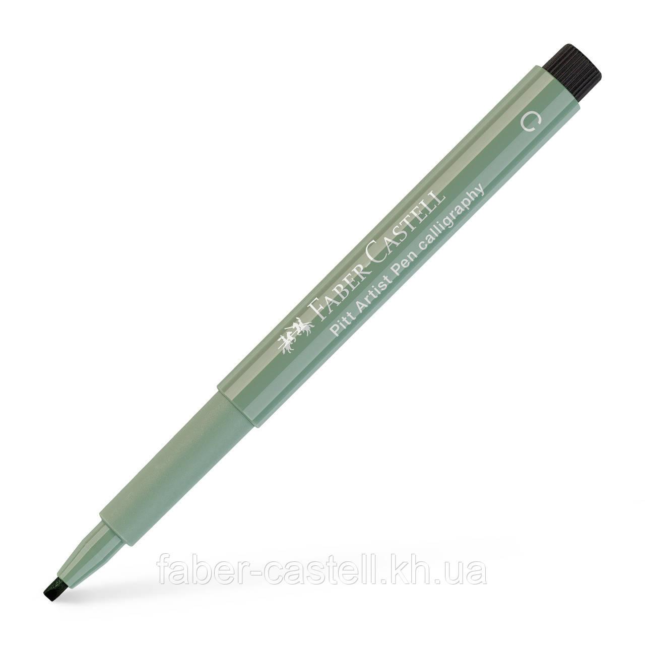 Ручка капиллярная для каллиграфии Faber-Castell PITT Calligraphy, цвет теплый серый III № 272, 167972