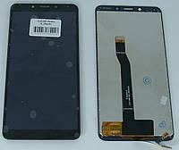 Экран на Xiaomi Redmi 6 (редми 6) черный оргинал (китай)
