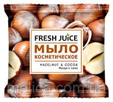 Мыло косметическое Fresh Juice Hazelnut & Cocoa Фундук и Какао - 75 г.