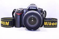 Б/у Зеркалка Nikon D90 nikkor af-s 18-105, фото 1