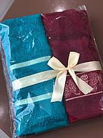 Комплект полотенец HAPPY NEW YEAR 50х90 100% хлопок