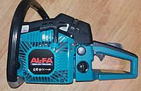 """Бензопила AL-FA ALGCS60  (2 шины 2 цепи,52 см3,  4,5 кВт, 2 шины + 2 цепи 18"""" + 16"""", легкий старт, железн ст)"""