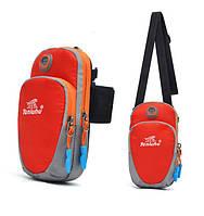 Спортивная сумка для телефона Tanluhu Running красный