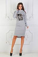 Платье хомут женское ангора, фото 1