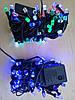 Новогодняя светодиодная гирлянда РУБИН 100LED мультикольор, фото 3
