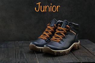 Ботинки Twics К2 (Columbia) (зима, подростковые, кожа)
