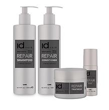 Серия id HAIR Elements Xclusive REPAIR по уходу за поврежденными или химически обработанным волосами