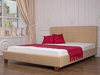 """Кровать деревянная """"Каролина"""" с мягким изголовьем, фото 1"""
