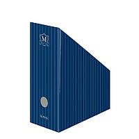 Лоток для бумаг вертикальный Herlitz 11.5см картон Montana Blue (10085074)