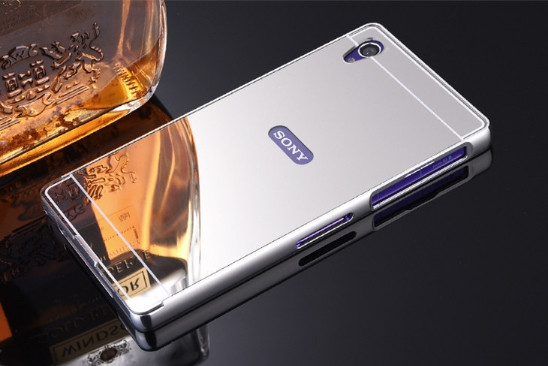 Алюминиевый чехол бампер для Sony Xperia Z5 (E6633)