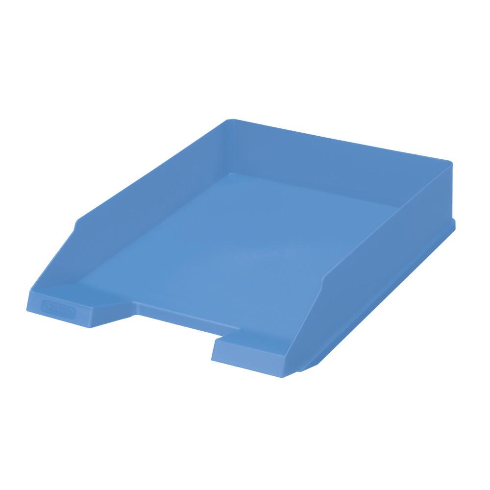 Лоток для бумаг горизонтальный Herlitz Colour Blocking Baltic Blue голубой (50015733)