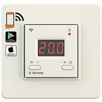 Terneo AX бежевый (Украина) - терморегулятор Wi-Fi
