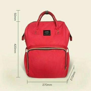 Сумка рюкзак для мамы Ximiran (MOM BAG,Baby Mo, Mummy Bag), Рюкзак для мам Ximiran, красный - My best buy в Одесі