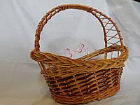 Подарочная корзина плетеная, фото 1