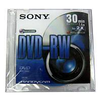 Диск   mini DVD-RW    SONY  1,4Gb/30min 4x  box