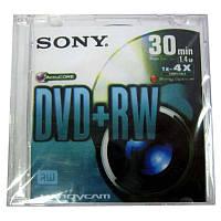 Диск   mini DVD+RW    SONY  1,4Gb/30min 4x  box