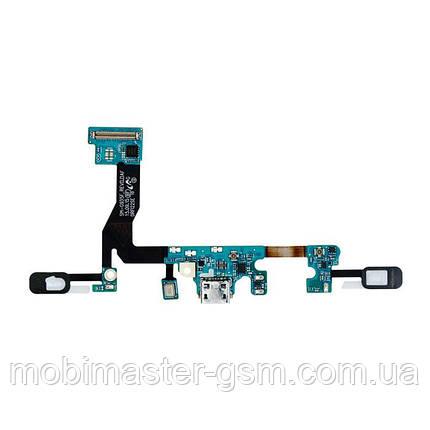 Шлейф Samsung G935F Galaxy S7 Edge с элементами зарядки, фото 2