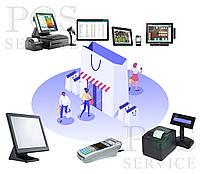 Комплект техники для бутика. магазина одежды