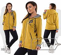 """Женский утепленный спортивный костюм  больших размеров """" Adventures """" Dress Code, фото 1"""