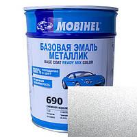 Автокраска Mobihel металлик 690 Снежная Королева 0.1л.