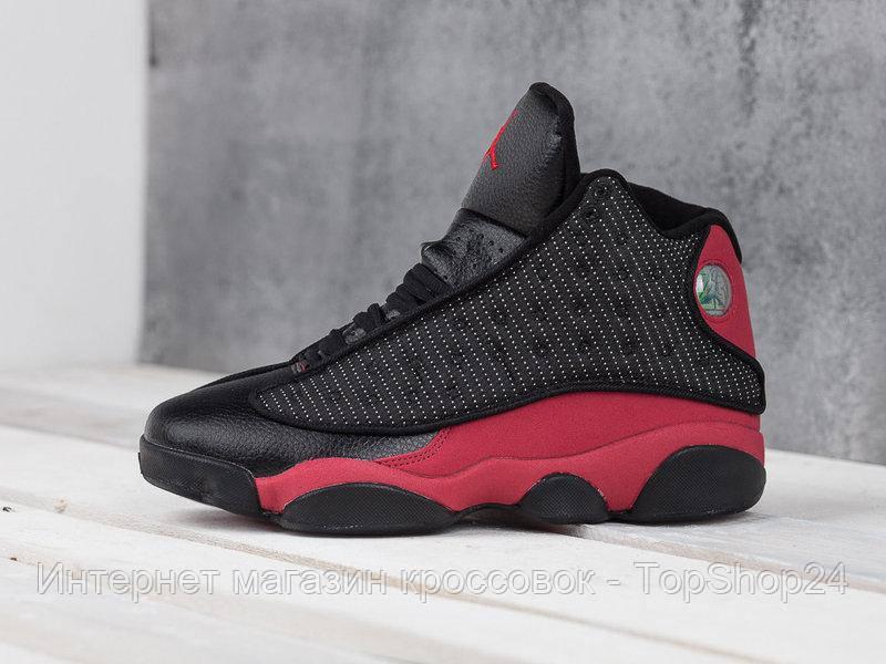 "Кроссовки Nike Air Jordan 13 Retro ""Black/Red"" (копия A+++)"