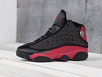 "Кроссовки Nike Air Jordan 13 Retro ""Black/Red"" (копия A+++), фото 1"