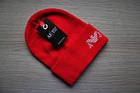 Мужская  шапка Armani Армани   (реплика)  4 цвета