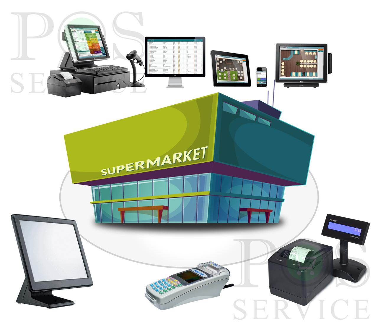 Повна автоматизація супермаркету, мінімаркета