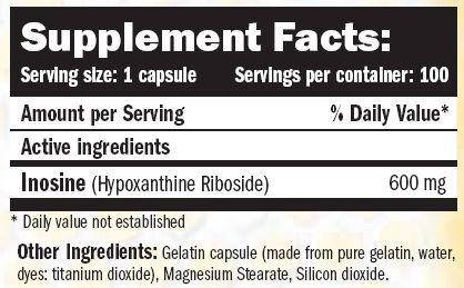 Ultimate Nutrition Inosine capsules 100 caps, фото 2