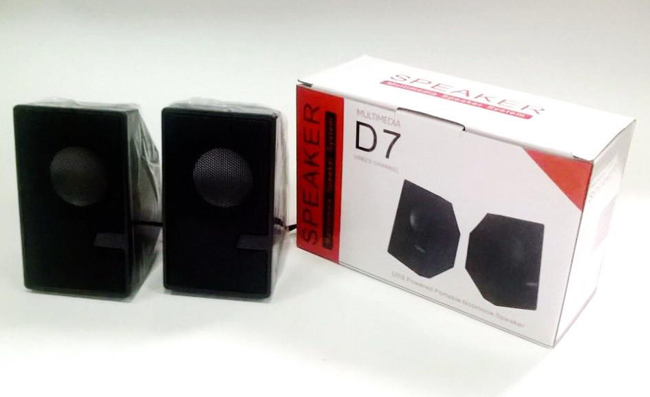 Колонки для PC 2.0 USB D7
