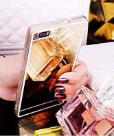 Зеркальный силиконовый чехол для Huawei P9 Lite