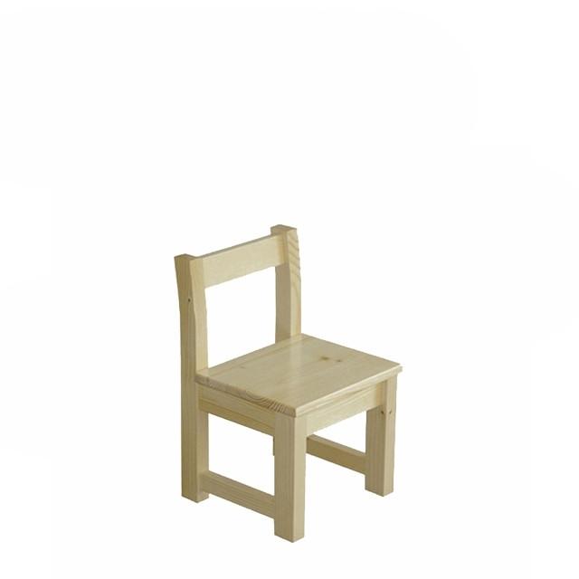 Дитячий стілець з натурального дерева С-3 Скіф