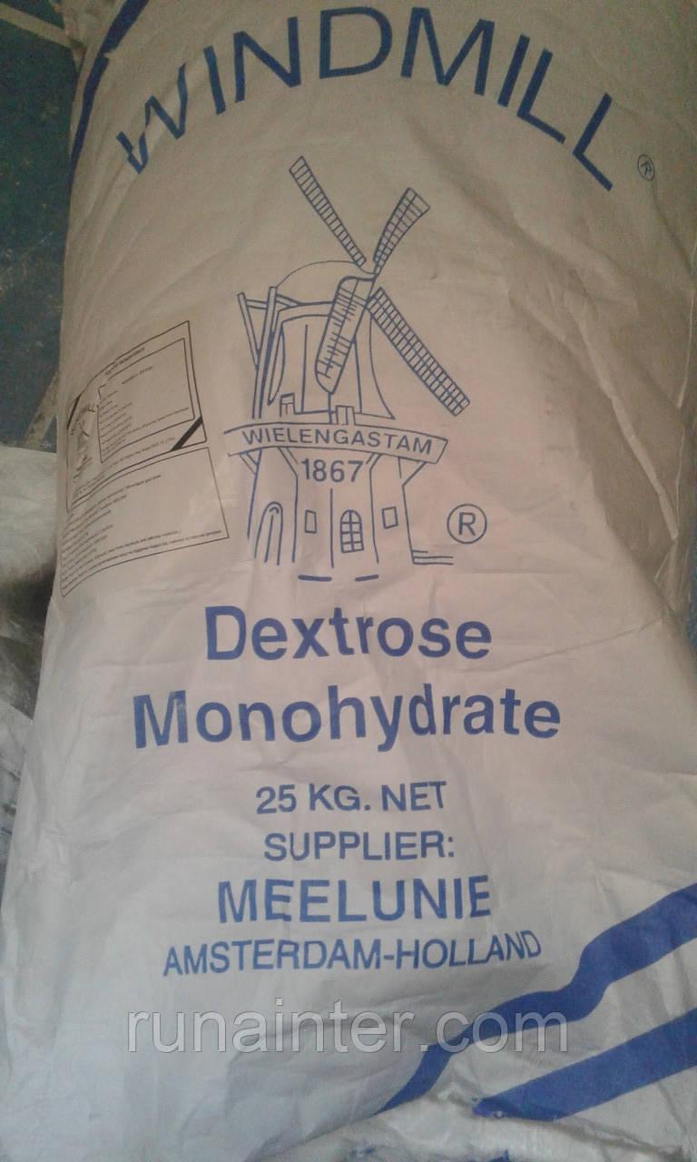 Декстроза моногидрат  кристаллическая пищевая Голландия, мешок 25 кг