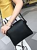 Сумка женская большая набор сумка через плечо Sharon  Серый, фото 5