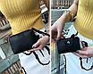 Сумка женская большая набор сумка через плечо Sharon  Серый, фото 7