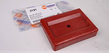 Кронштейн подушки ресори передній (червоний) MB Sprinter 96-06 (правий) (3191) AUTOTECHTEILE