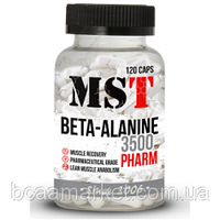 Аминокислоты MST Nutrition Beta-Alanine, 120 caps