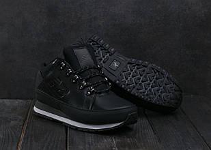 Кроссовки Classik NB754 АМ 801-4 (New Balance) (зима, мужские, кожзам, черный)