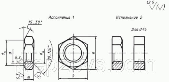"Гайки ГОСТ 5916-70 купить - завод ""Зевс"""