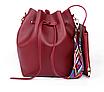 Сумка женская через плечо в наборе кошелек Suzy Красный, фото 2