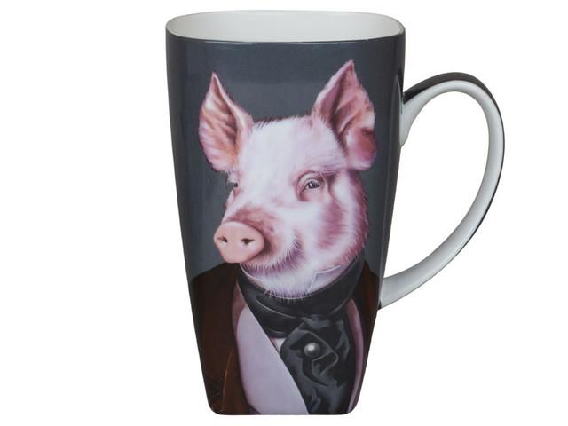 Посуда со свинками